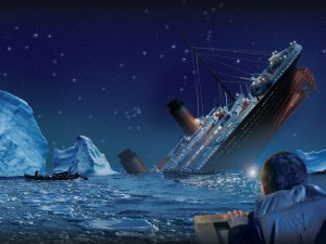 Vasul-Titanic-scufundarea