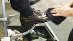 lustruire papuci